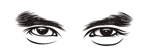 menggambar alis mata vector  art teknik arsiran