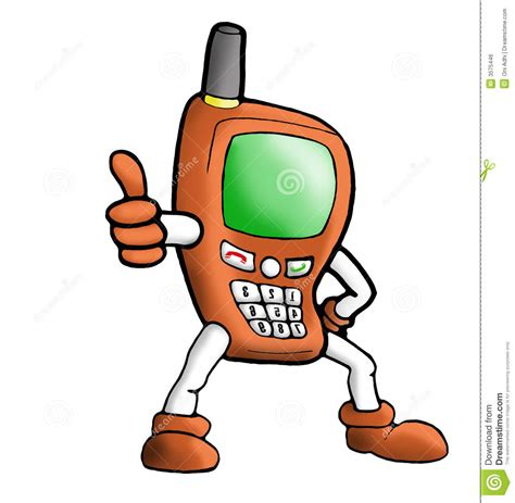 illustrator tutorial vector handphone illustration orange handphone stock illustration image