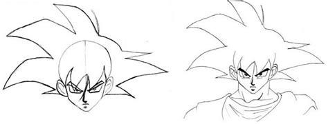imagenes para dibujar faciles a lapiz de goku aprende a dibujar a goku grandes tutoriales