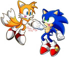 Sonic and tails brothers sonic n tails by rowseroopa