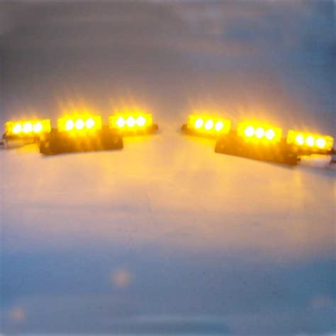 green and amber strobe lights 2x9 led red blue white green amber yellow strobe light led
