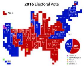 us map showing electoral votes electoral college united states