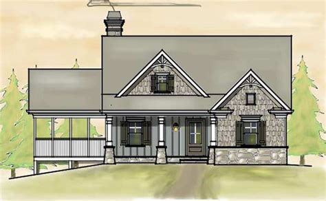 southern cottage style house plans small 2 story 3 bedroom southern cottage style house plan