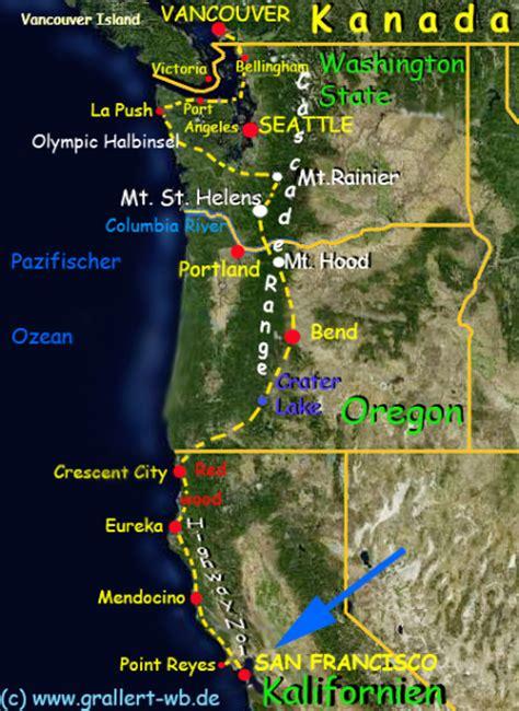 map san francisco vancouver usa kanada 2012 willkommen bei familie grallert