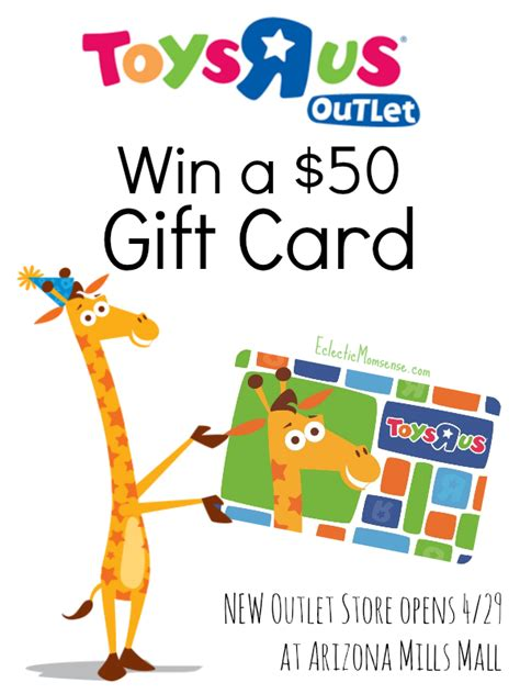 Toys R Us Gift Card Giveaway - toys r us gift card giveaway first arizona outlet opens april 29th at arizona