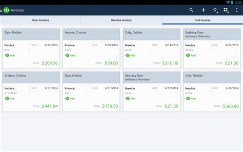 quickbooks for android quickbooks screenshot