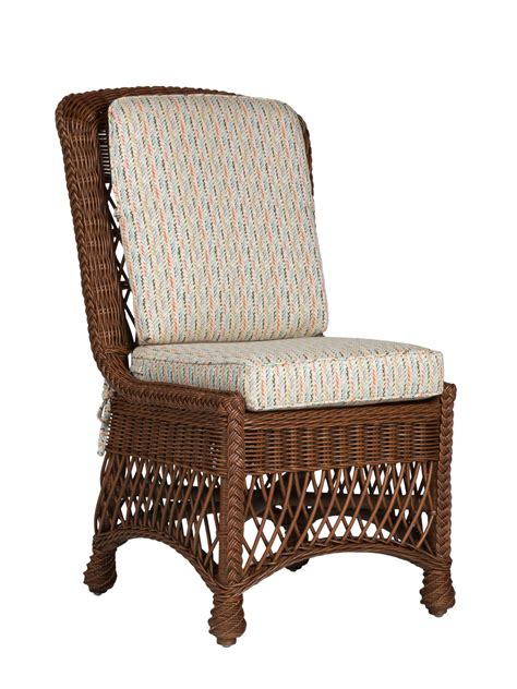 Cottage Dining Chairs Cape Charles Wicker Dining Side Chair Cottage Home 174
