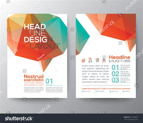 layout poster vector abstract poster brochure flyer design layout vector