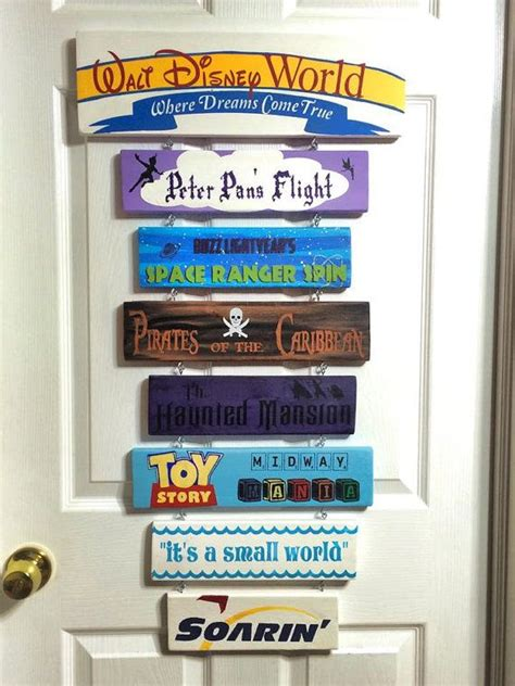 Kinderzimmer Idee 4368 by Disney Find Custom Made Disney Signs Disney