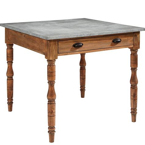 Kitchen Gathering Table Magnolia Home Primitive Zinc Top Gathering Table Dining Tables Home Appliances Shop The