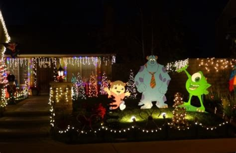 cool ventura county residential holiday light displays