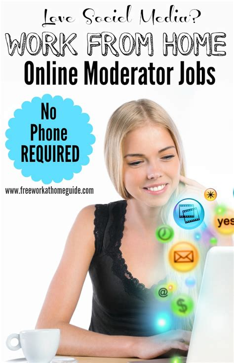 Online Moderator Jobs Work From Home - online moderator jobs free work at home guide