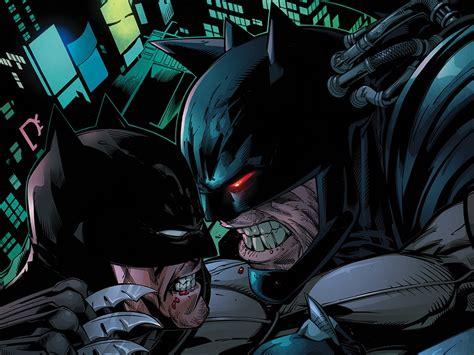wallpaper batman vs bane forever evil aftermath batman vs bane computer