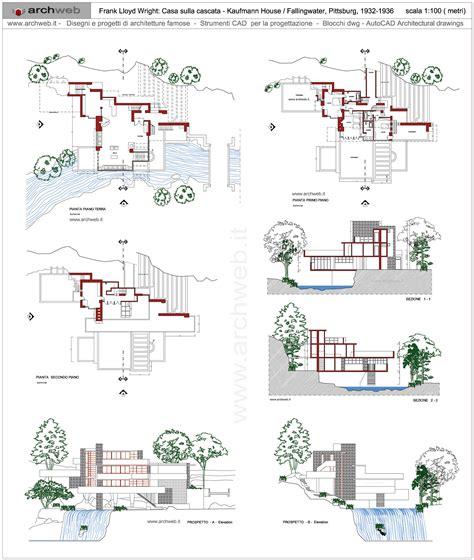 falling water floor plan pdf 100 fallingwater floor plans casa sulla cascata dwg