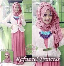 Maxi Tunik Songket Dress Panjang Gamis Busui Seleting Depan Zipper model baju muslim fashion