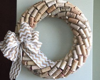 custom cork wreath by madstuf on etsy wreaths cork wreath wine cork wreath and cork