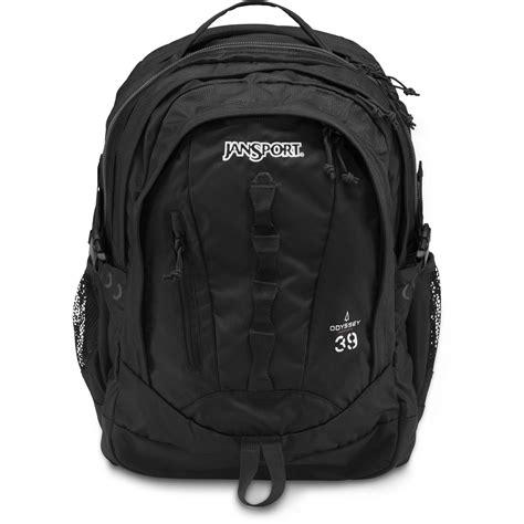 black backpack jansport odyssey backpack black t14g008 b h photo