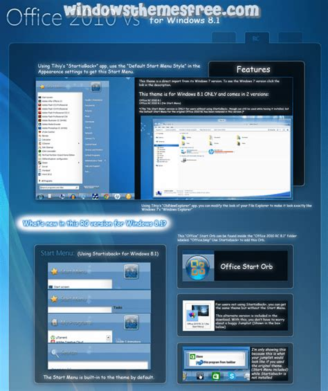 transparent theme for windows 8 1 free download office 2010 windows 8 visual style windows themes free