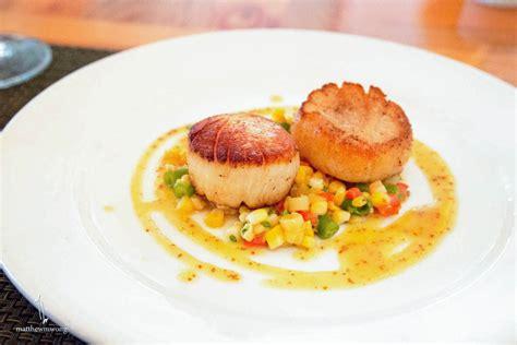 seared barnegat light sea scallops mw eats