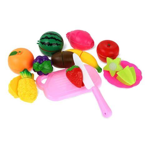 mainan anak miniatur buah dan sayur 13 pcs multi color jakartanotebook