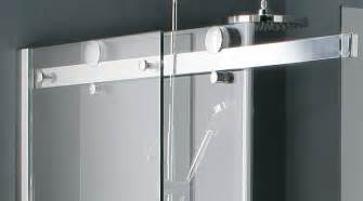 frameless roller shower doors walk in showers the alternative bathroom
