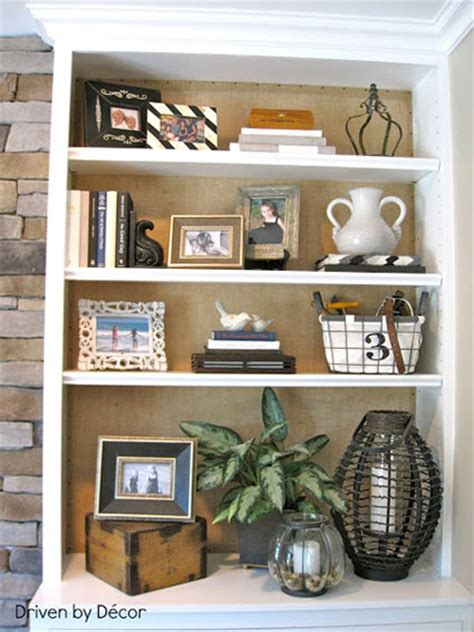 decorating a bookshelf bookcase back panels 12 ideas for amazing updates