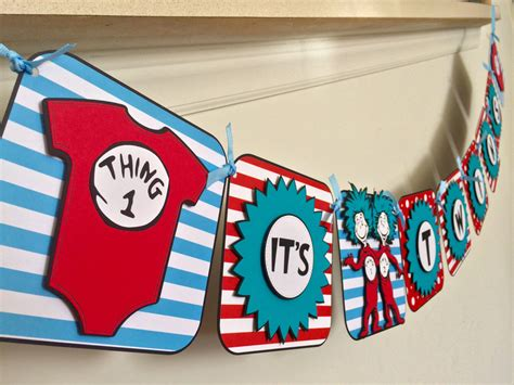 Thing 1 And Thing 2 Baby Shower by The Best Themes For A Baby Shower Baby Ideas