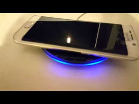 Wireles Wireless Charger Samsung Galaxy S7 Edge S6 Note 5 Original Oem samsung wireless charger unboxing compatible with s6 s7
