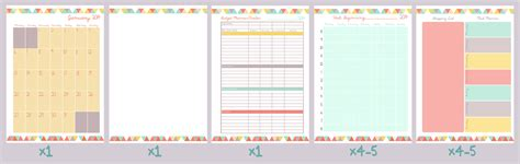 printable monthly planner free download 2014 planner organise my life free printable download