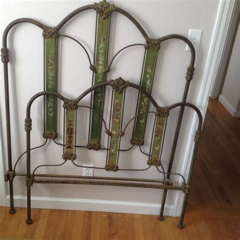 Antique Wrought Iron Bed Frames Antique Wrought Iron Bed Frame