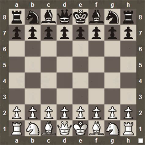 how to setup a chess board and pieces computer chess online