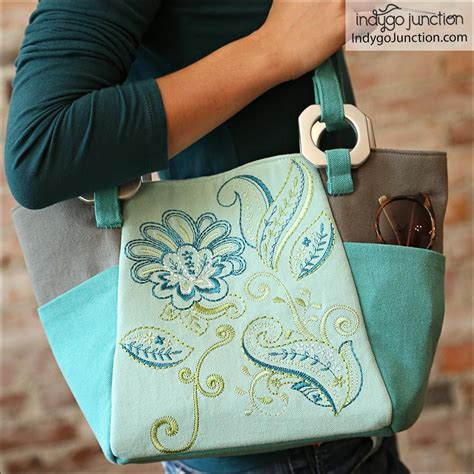 urban tote bag pattern urban tote bag sewing pattern from indygo junction