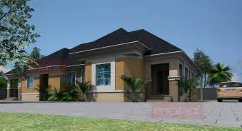 Bungalow Designs Contemporary Nigerian Residential Architecture 4 Bedroom