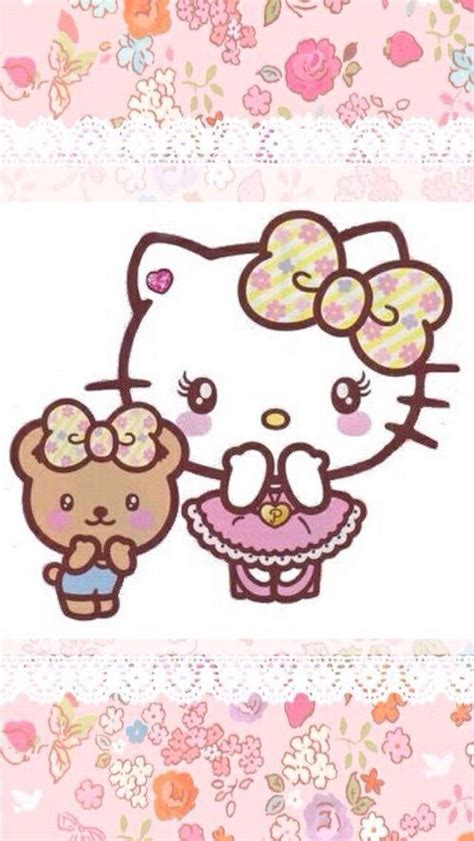 hello kitty hearts wallpaper 17 best images about wallpapers kitty hello kitty images