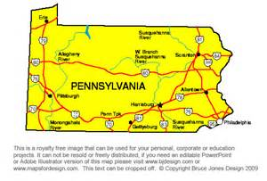 Pennsylvania On Us Map by Pennsylvania On Us Map Submited Images Pic2fly