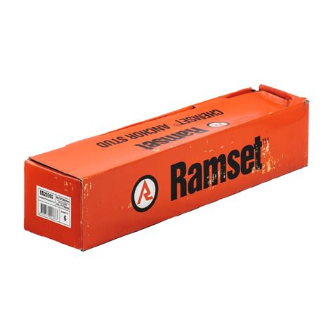 Chemical Ramset ramset m20 x 260mm chemset anchor stud 6 pack bunnings warehouse