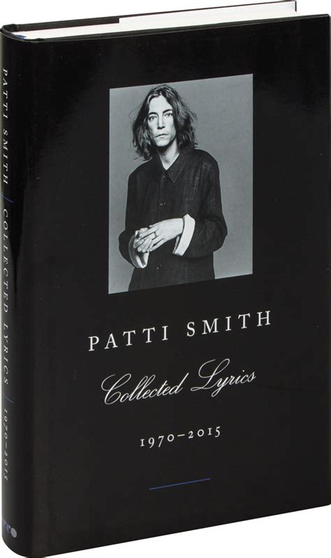 patti smith collected lyrics 1408863006 patti smith collected lyrics 1970 2015 i f 252 r 9 95 euro i jetzt kaufen