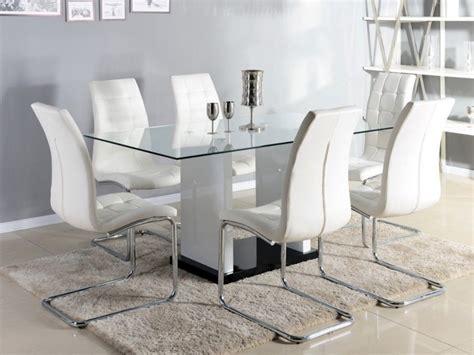mesa de comedor marisa  comensales cristal templado