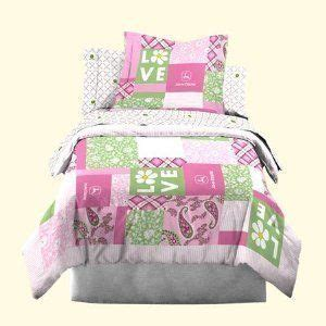 john deere twin bedding john deere bedding girls quilt and sham set twin size by