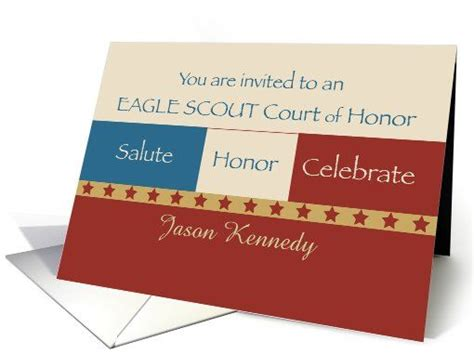 eagle scout card template 10 images about scouts eagle scout invitations on