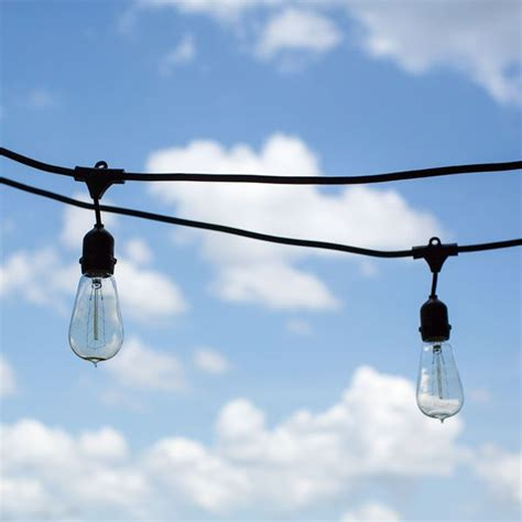 outdoor commercial string lighting pin by meredith on cottage ideas