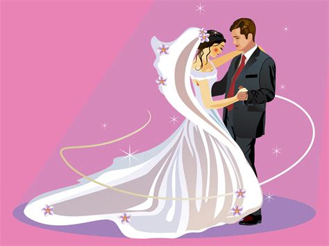 Young Wedding With Dancing Ppt Backgrounds Love Music