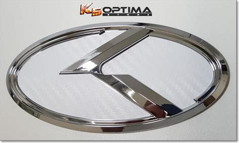 Emblem Luxury Chrome 1 k5 optima store kia 3 0 k logo emblem sets