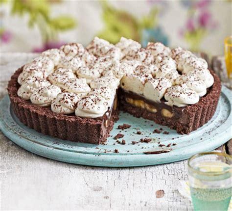 Chocolate coconut banoffee pie recipe