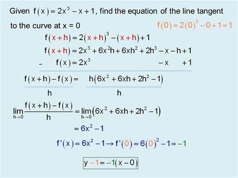 Find Line Unit 6 Fundamentals Of Calculus Section 6 Ppt