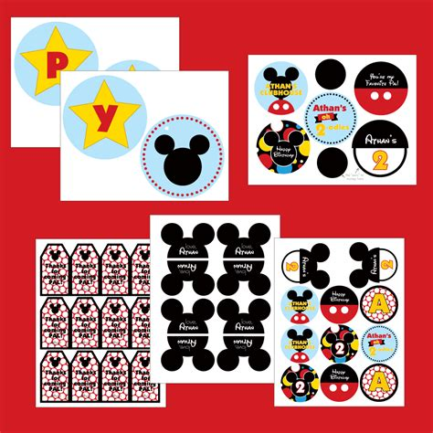 printable mickey mouse birthday decorations 5 best images of mickey mouse clubhouse printables