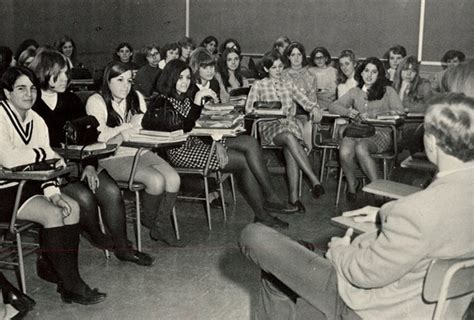 Stum Hotpant mini skirts in the classroom in the past vintage everyday