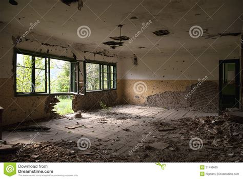 Room Running Time Abandoned Room Royalty Free Stock Photo Image 31492665