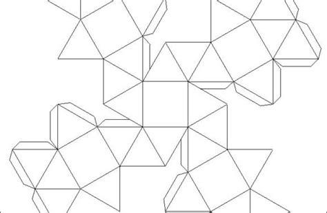 imagenes raras tridimensionales recortables de figuras geom 233 tricas dibujos para cortar y
