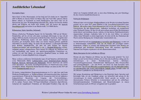 Bewerbung Consulting Fragen Ausformulierter Lebenslauf Muster Lebenslauf Lebenslauf In Aufsatzform 4 Lebenslauf In